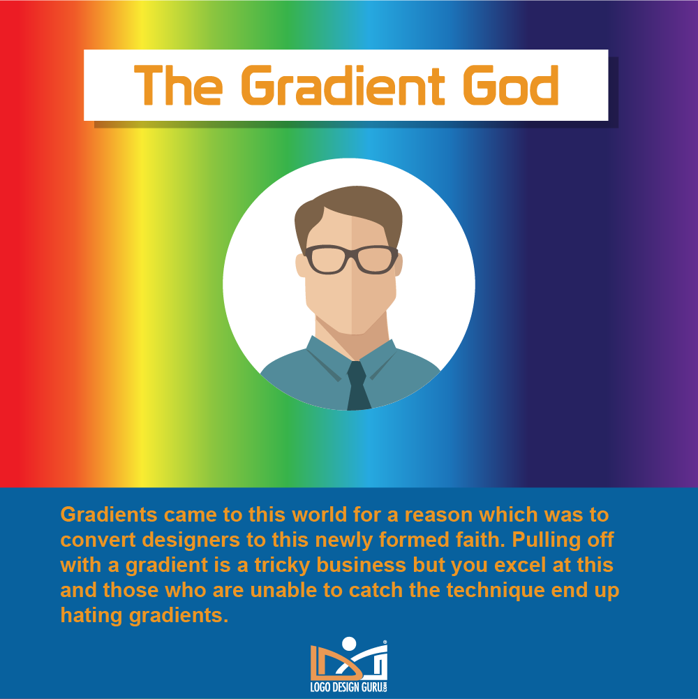 Graphic designer types, skills, personalities and habits - Gradient God