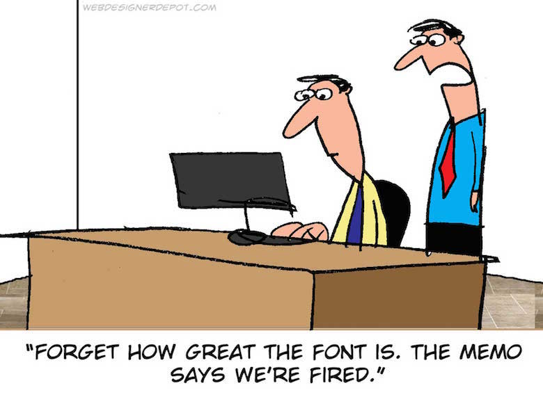 Funny comics for graphic and web designers - 11