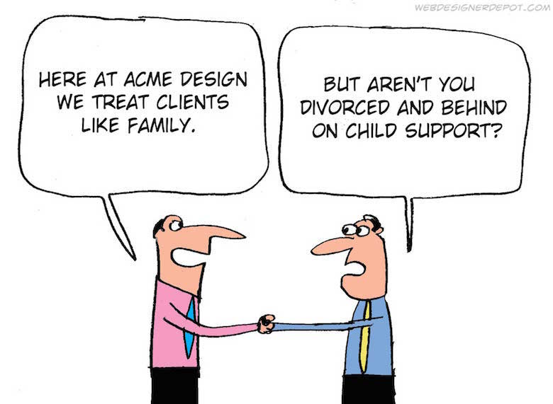 Funny comics for graphic and web designers - 4