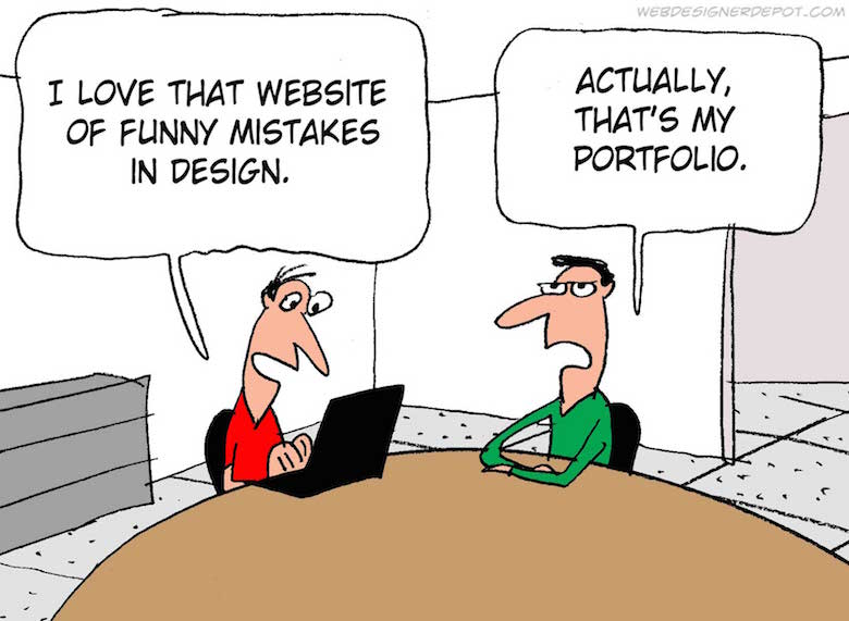Funny comics for graphic and web designers - 6