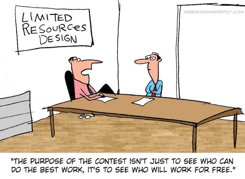 Funny comics for graphic and web designers - 7