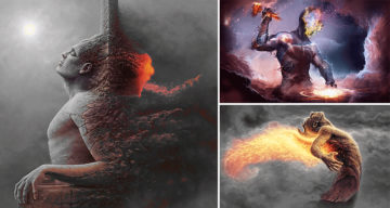 20 Incredible GIFs By Blind Artist George RedHawk That Are Just Out Of This World