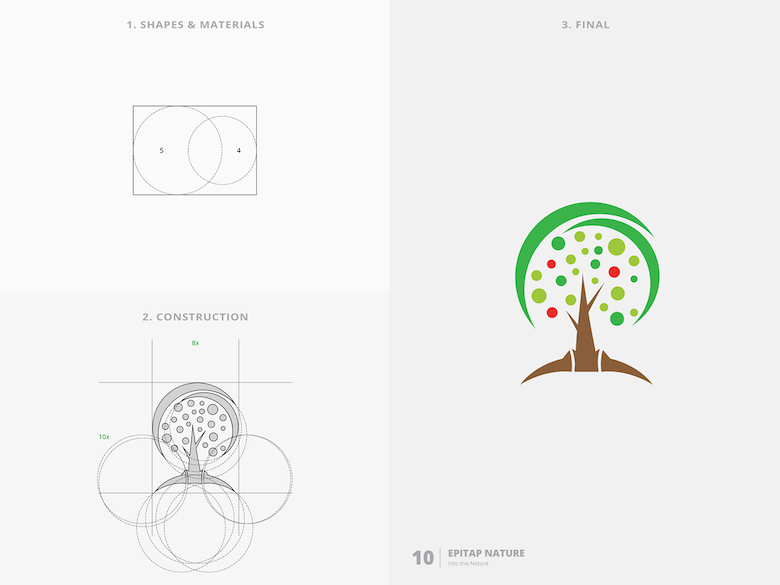 25 creative logos based on the golden ratio - 10
