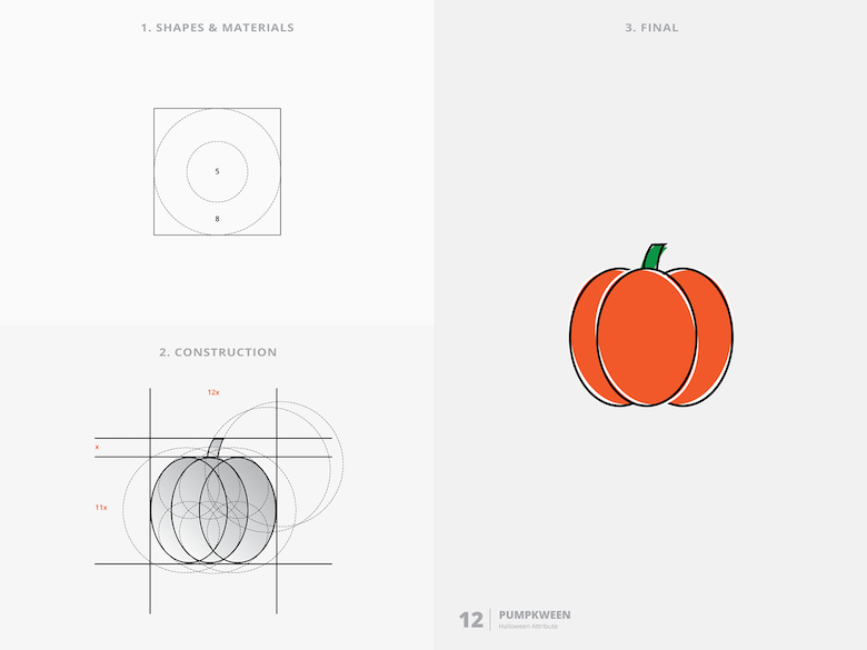 25 creative logos based on the golden ratio - 12