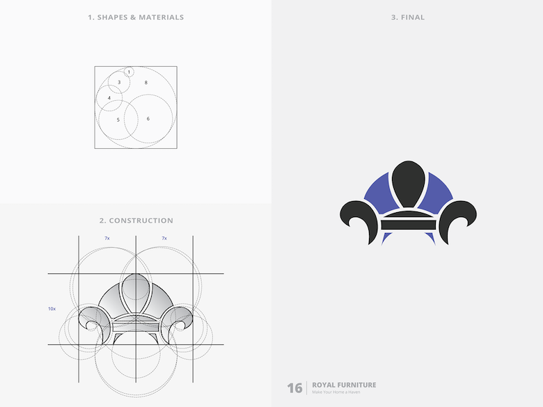 25 creative logos based on the golden ratio - 16