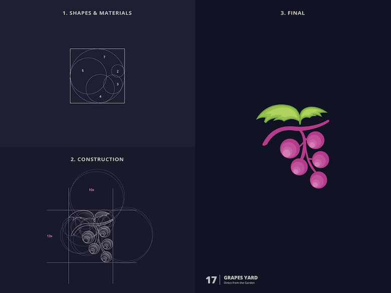 25 creative logos based on the golden ratio - 17