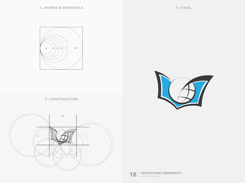 25 creative logos based on the golden ratio - 18