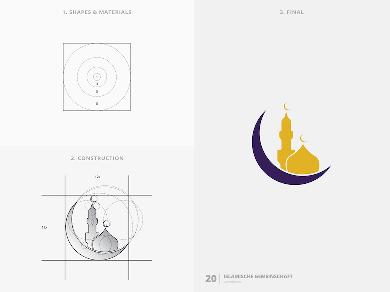 25 creative logos based on the golden ratio - 20