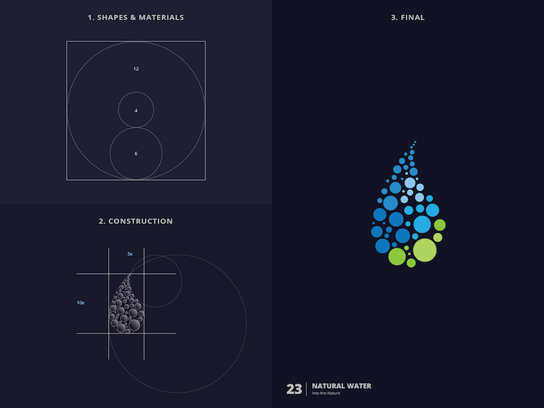 25 creative logos based on the golden ratio - 23