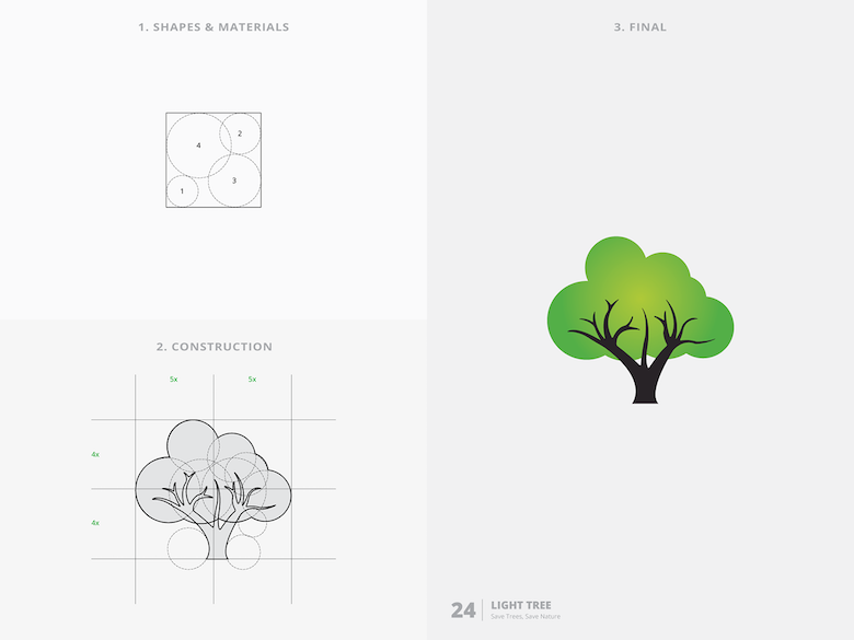 25 creative logos based on the golden ratio - 24