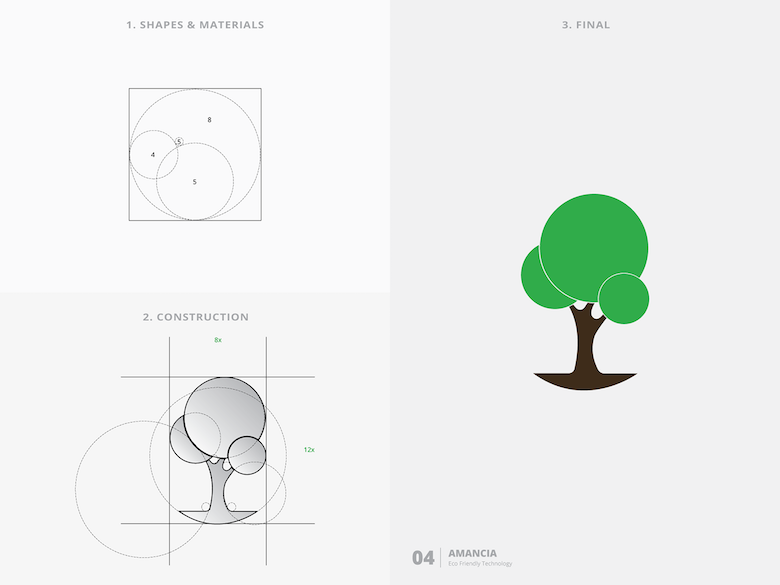 25 creative logos based on the golden ratio - 4