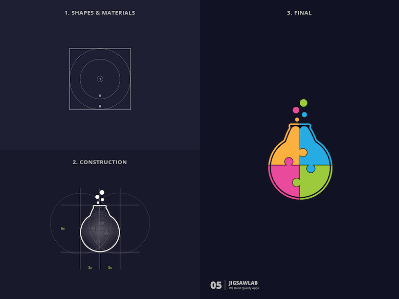 25 creative logos based on the golden ratio - 5
