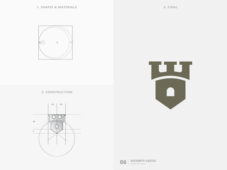 25 creative logos based on the golden ratio - 6