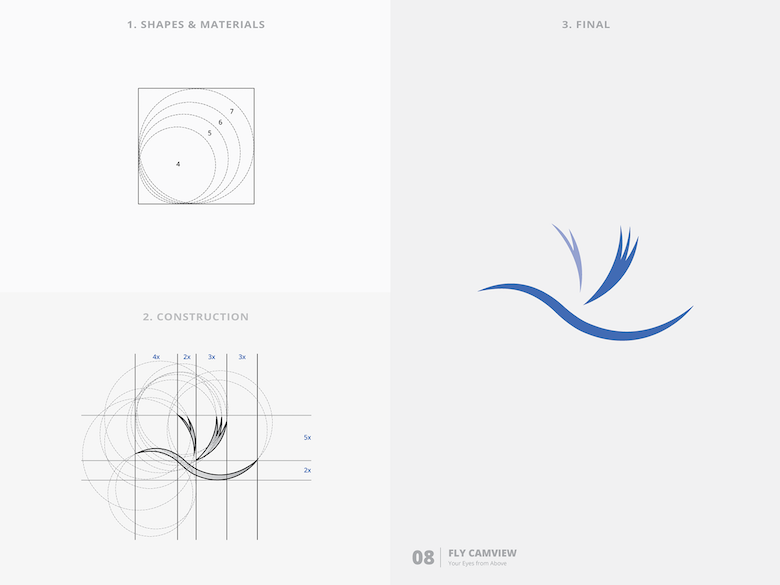 25 creative logos based on the golden ratio - 8