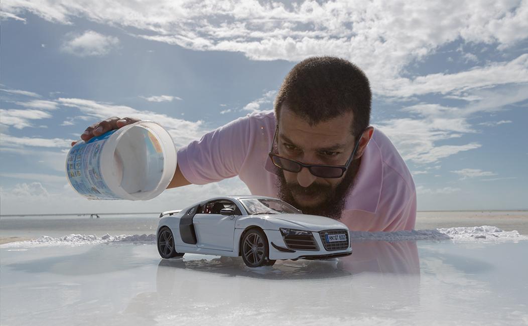 Audi R8 - Miniature Scale Model Car Photography (2)