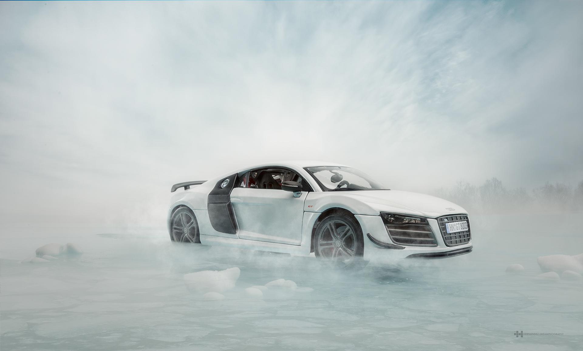 Audi R8 - Miniature Scale Model Car Photography (7)