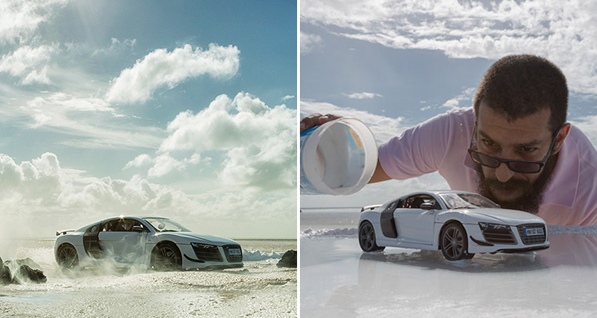 Audi Hires Photographer To Shoot Their 200 000 Sports Car