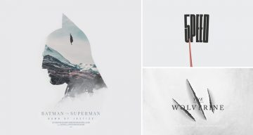 Designer Challenges Himself To Create A Movie Poster Every Day For A Year, And They're Pretty Cool