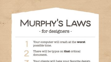 10 Funny Murphy's Laws For Designers
