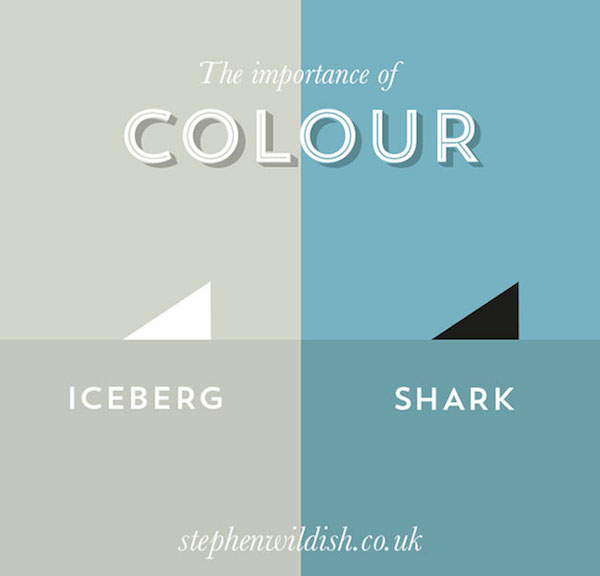 Importance of color, funny charts by Stephen Wildish - 1