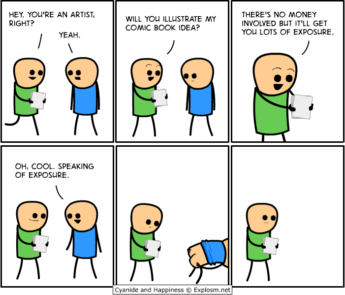 Funny comics that show the life of an artist - 10