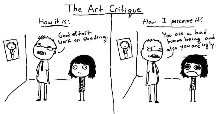 Funny comics that show the life of an artist - 7