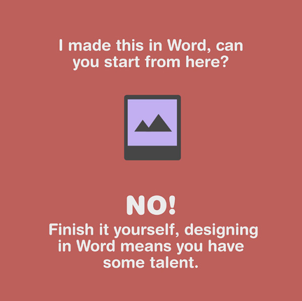 When designers should say no to clients - 2
