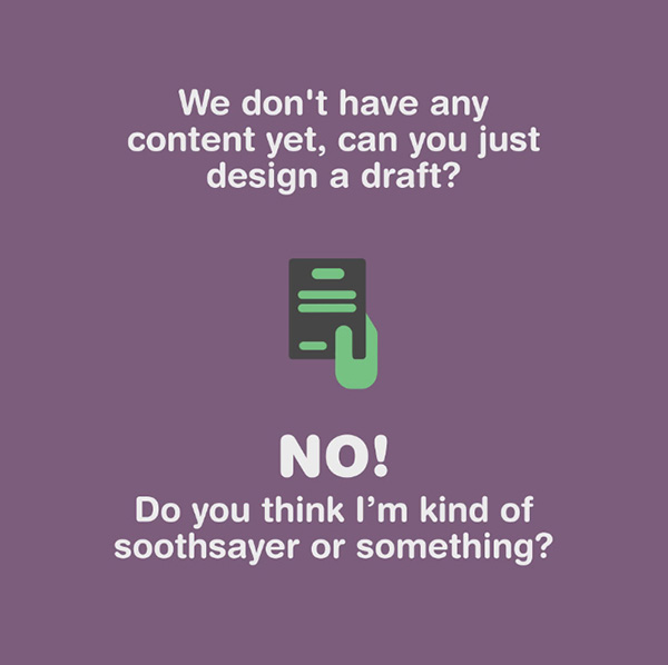 When designers should say no to clients - 5
