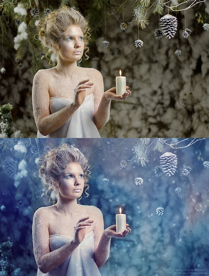Before and after Photoshop images - 16