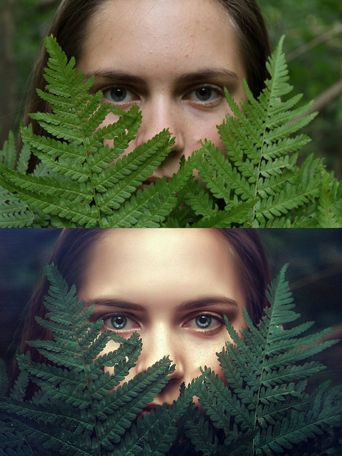Before and after Photoshop images - 30