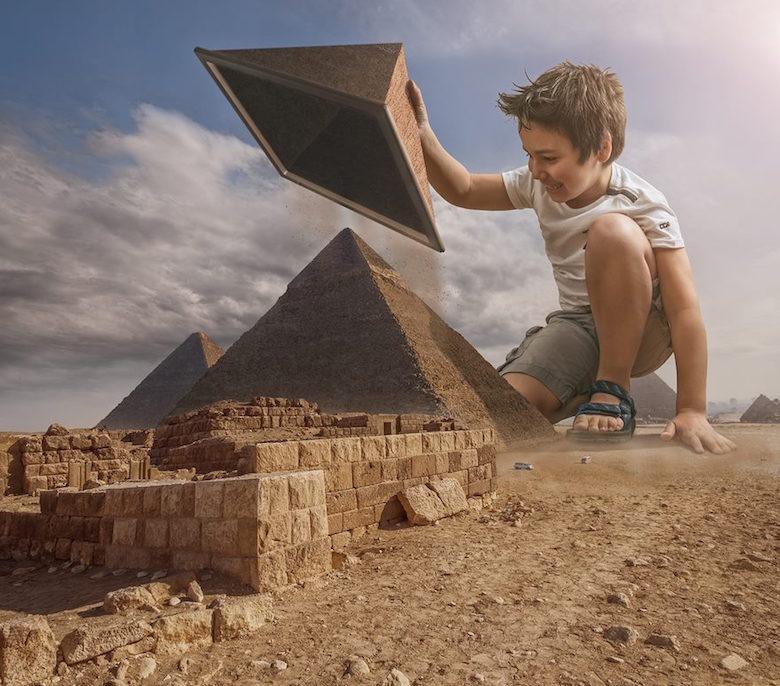 Dad photoshop son into crazy photos using digital manipulation - 2