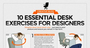 10 Simple Exercises For Designers And Desk Workers To Stay Fit