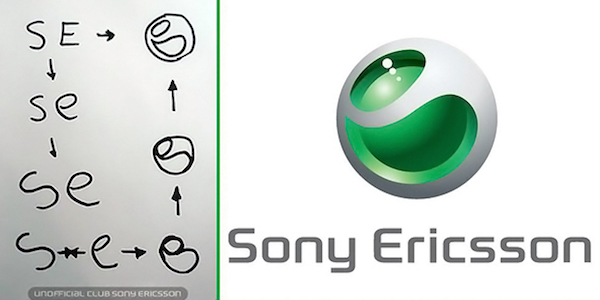 Famous brand logos with hidden meanings - Sony Ericsson