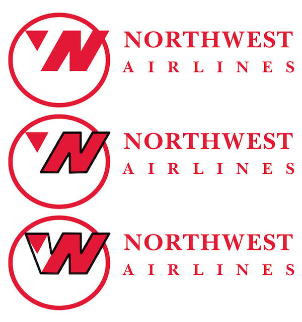 Famous brand logos with hidden meanings - Northwest Airlines