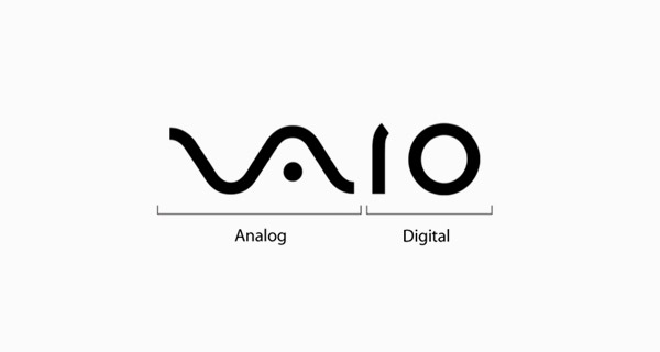 Famous brand logos with hidden meanings - Sony Vaio