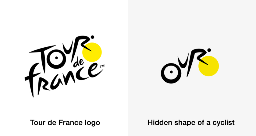 Famous brand logos with hidden meanings - Tour de France