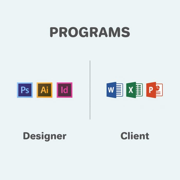 Funny differences between designers and clients - 3