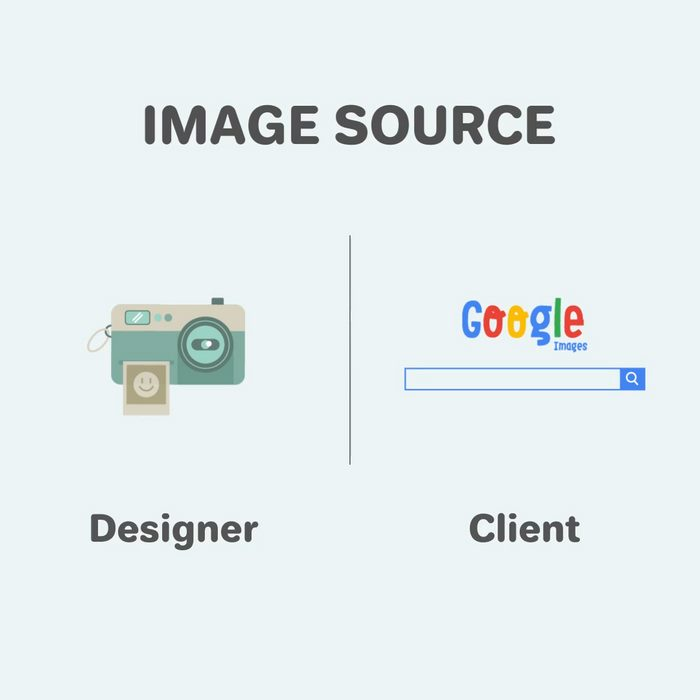 Funny differences between designers and clients - 4