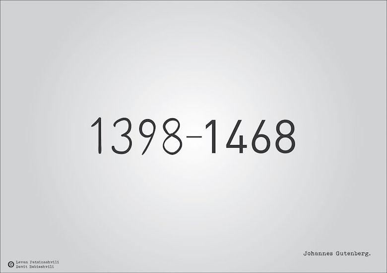 1398-1468 - Johannes Gutenberg