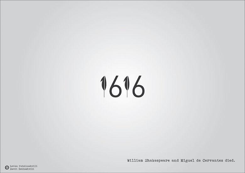 1616 - William Shakespeare and Miguel de Cervantes died