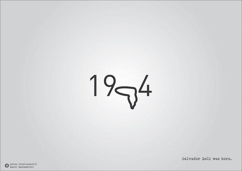 1904 - Salvador Dali was born