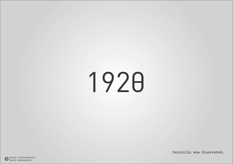 1920 - Penicillin was discovered