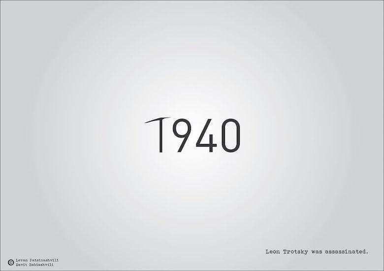 1940 - Leon Trotsky was assasinated