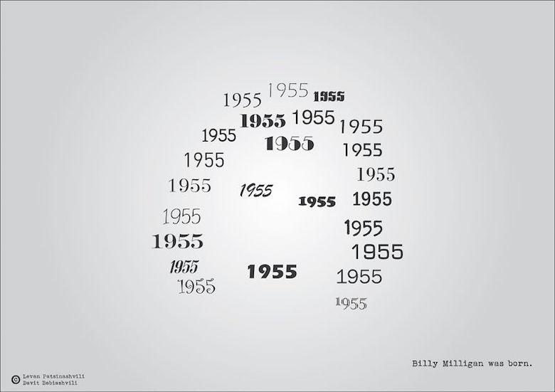 1955 - Billy Milligan was born