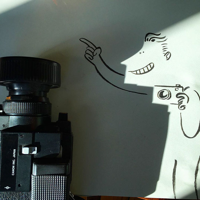 Shadow doodle art by Vincent Bal - 28