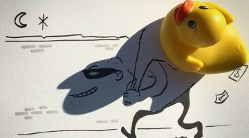 Artist Turns Shadows Of Everyday Objects Into Funny Sketches