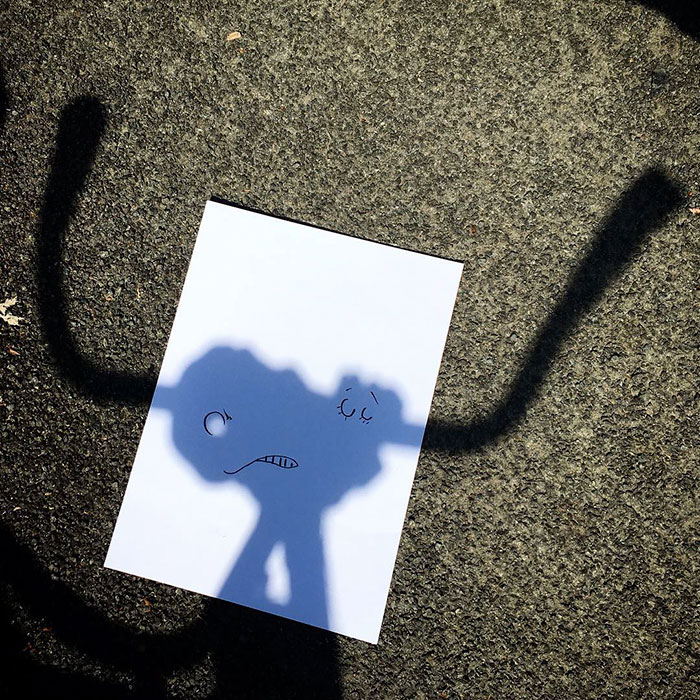 Shadow doodle art by Vincent Bal - 41