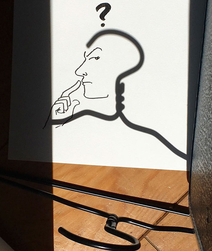 Shadow doodle art by Vincent Bal - 44