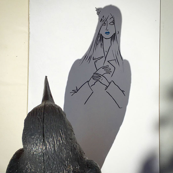 Shadow doodle art by Vincent Bal - 48