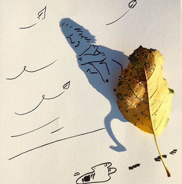Shadow doodle art by Vincent Bal - 59